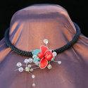 Ladybug Confetti Necklace