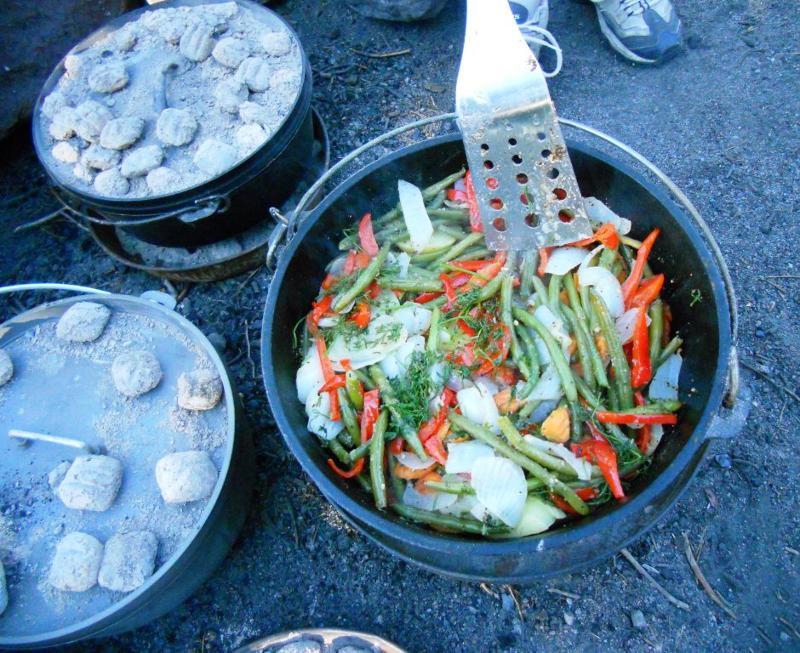 Dutch oven stew