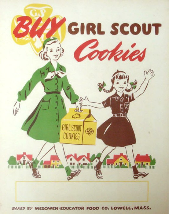 Cookie poster - retro