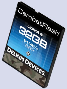 Delkin Combat  Flash - 32GB