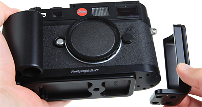 Leica M9 Removable L-Plate