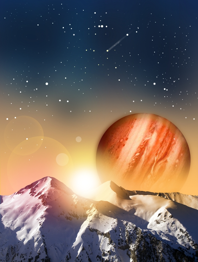Mountain - Jupiter