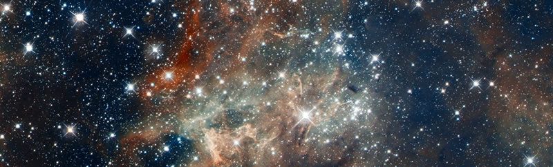 Doradus Star Field - Hubble