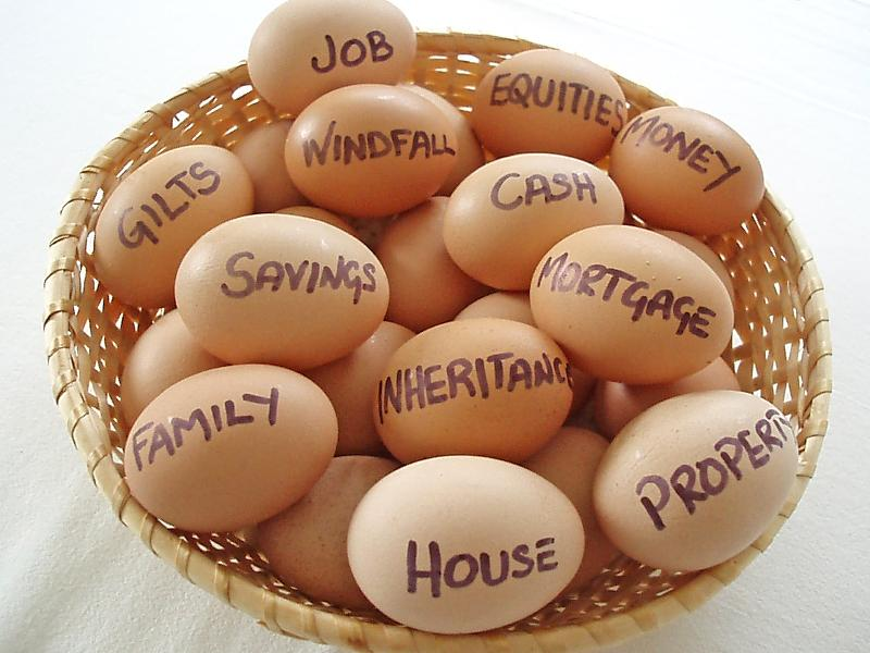 Eggs in one basket - insurance image