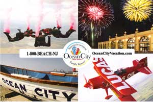 Ocean City Promotion Card - 2010