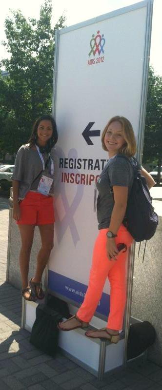 YEAH-NOLA Staff: (l->r) Melanie Powers & Katherine Eyster
