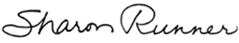 Sharon Runner Signature