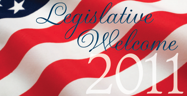 Legislative Welcome Logo