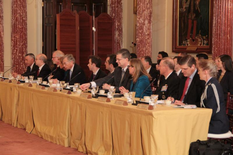 US delegation Ministerial meeting