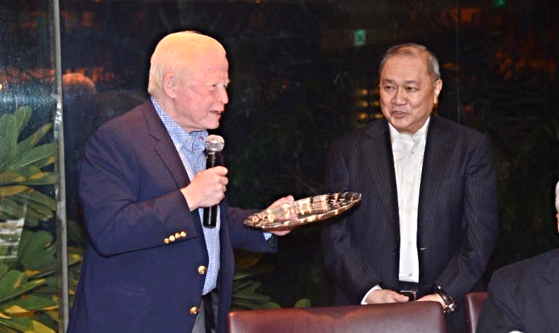 CPR Award for Amb Cuisia