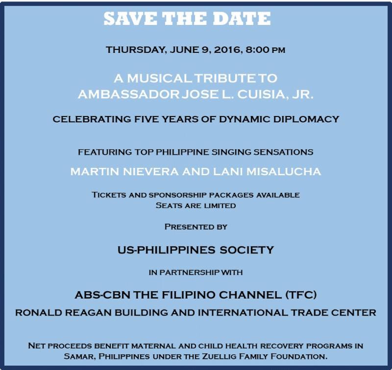 Save the Date June 9 Tribute