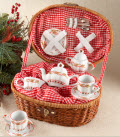 Christmas tea set
