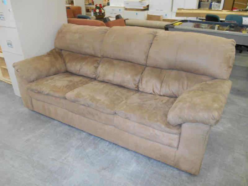 Tan Microfiber Sofa Couch 180 00 Un3161kt