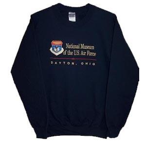 NMUSAF Crest Embroidered Sweatshirt