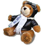 Wilbear Wright Aviator Teddy Bear
