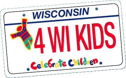 Celebrate Children license plate