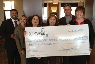 Baywood Properties Donation