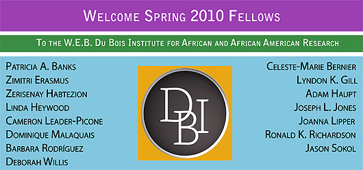 Welcome to the Spring Fellows