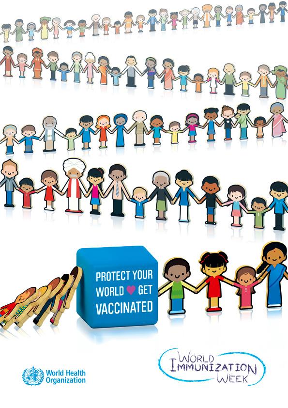 world immunization week WHO