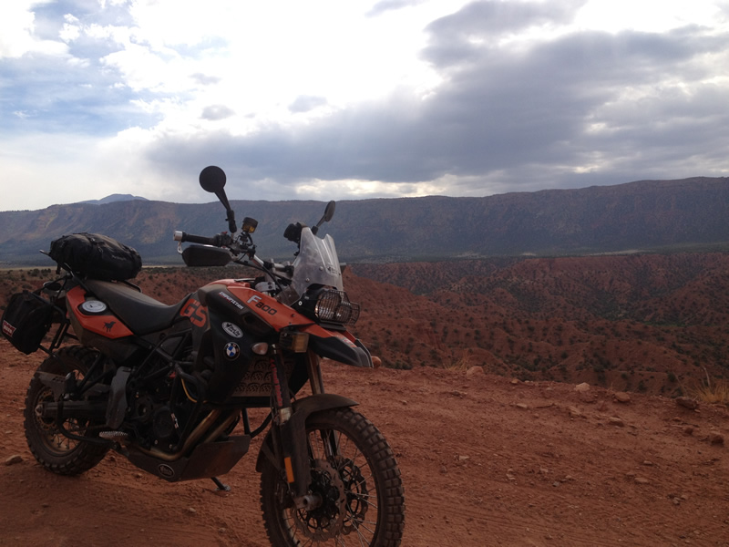 F800GS testing in Moab