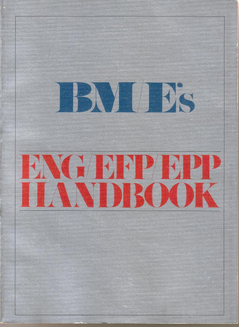 BM/E ENG book published in 1981