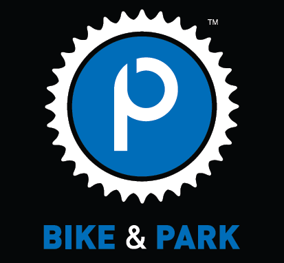 Bike and park logo