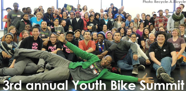 Youth Bike Summit group