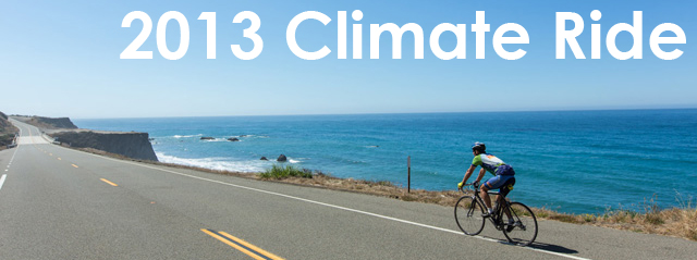 Climate ride 2013