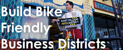 Build Bicycle Friendly Business Districts