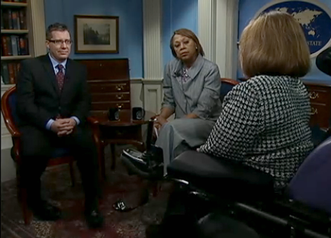 David Morrissey, Cheryl Benton, and Judy Heumann discuss Disability Rights on 'Conversations with America'