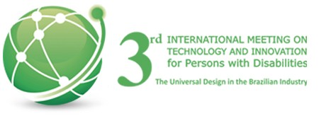 Logo of the 3rd International Meeting in Technology in Brazil