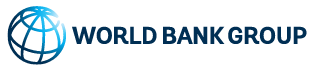 Line drawing of a globe next to the words World Bank Group