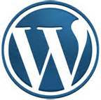 Blue circle with capital letter W in the center in white