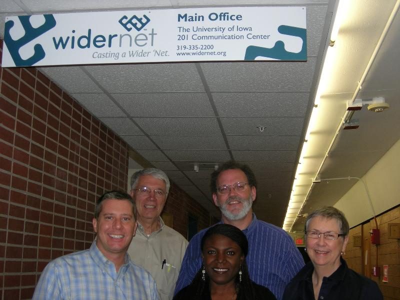 David and Widernet staff