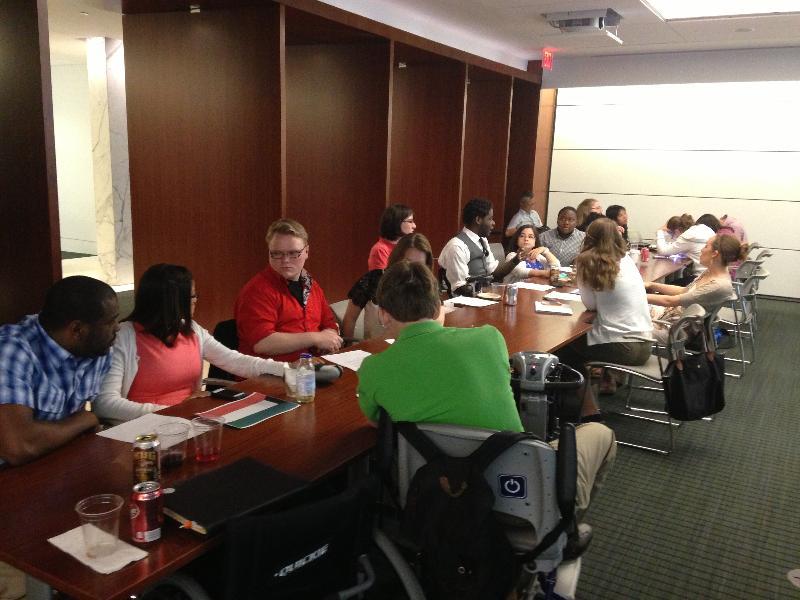 Internship CRPD training