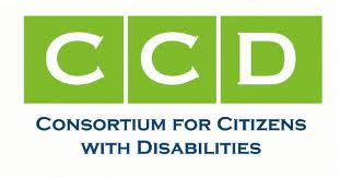 THe letters CCD in white on three green squares with the full name below in blue.
