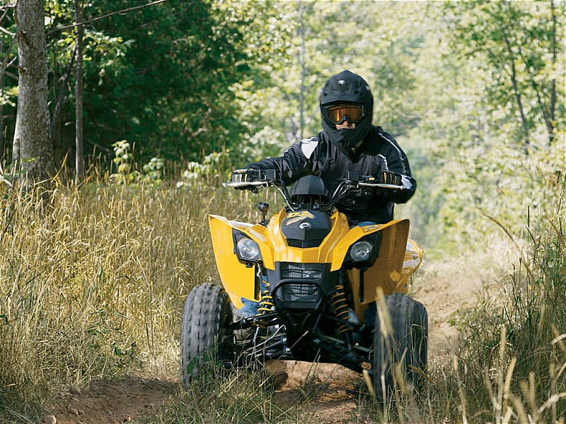 atv yellow