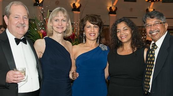 Mark &Julie, Rachel, Judge Bernadette and Dr. Terry D'Souza