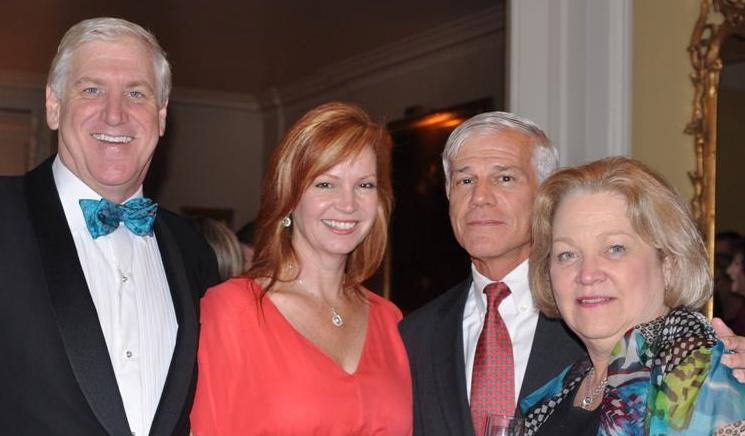 David & Mary Halpern, Jerry & Jan