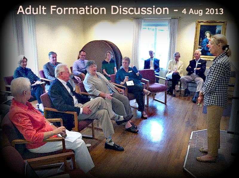 Adult Formation Parish Conversation 4Aug2013-2