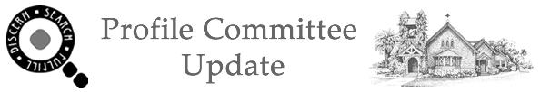 Profile Committee Update