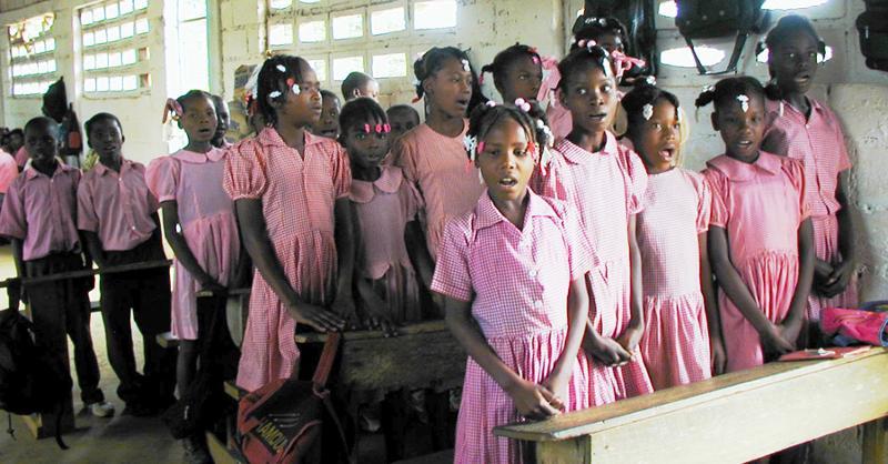 Haiti Students