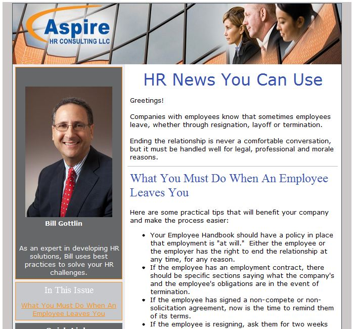 Aspire Email Image
