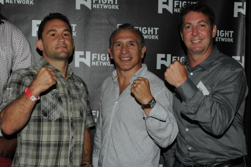 Ray Mancini Press Room