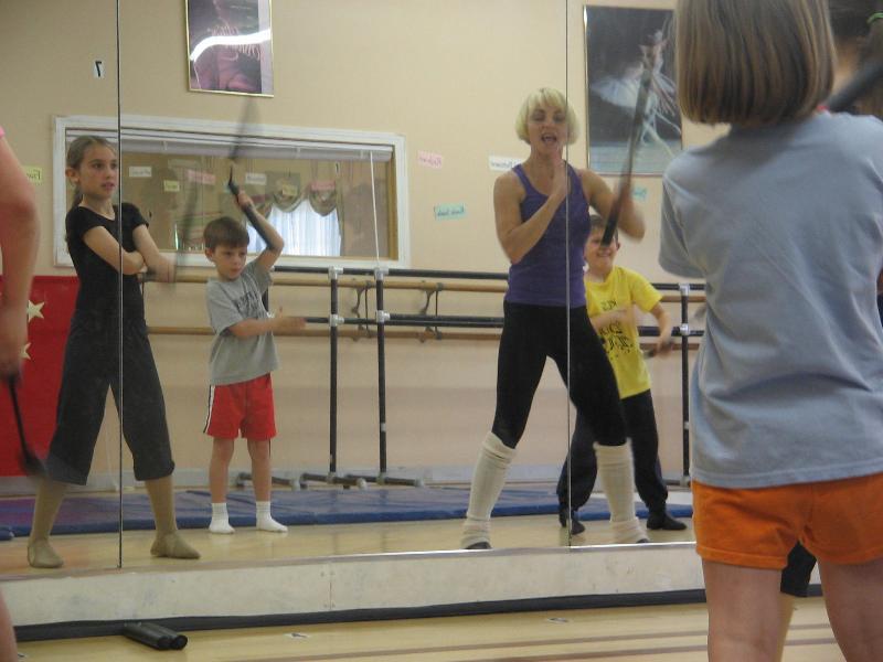 Kung Fu dance class