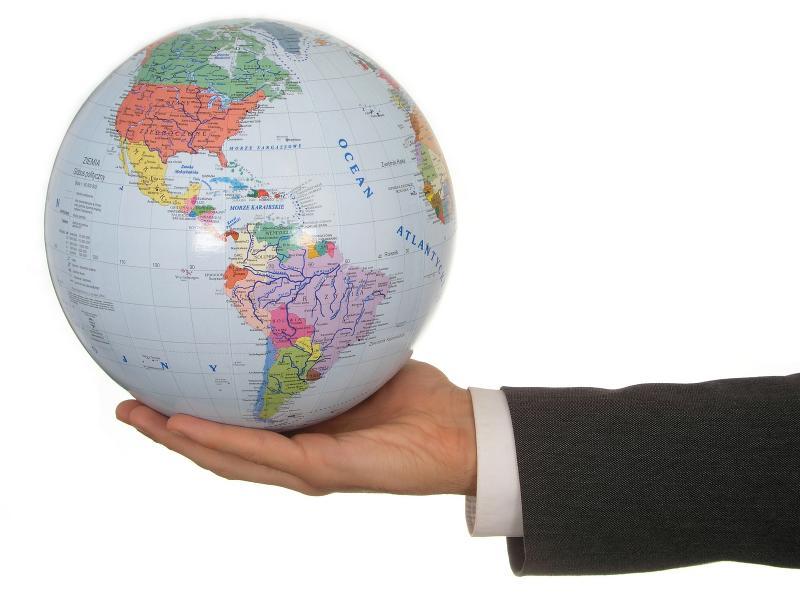 International Trade Globe