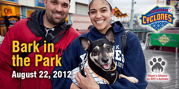 Bark in the Park - August 22, 2012