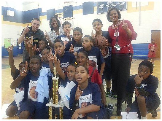 Elbert-Palmer ES Wins Holiday Basketball Tournament