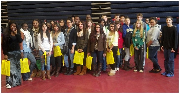 Christiana HS Students Attend National Hispanic College Fair