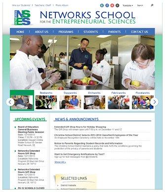 Christina School District Networks Program